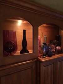 Art glass and vases