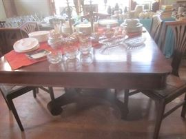 Empire Cherry Dining Table