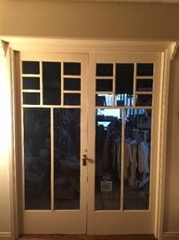 Older Craftsman Style French Doors
