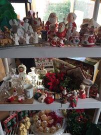 Christmas Decor, Some Vintage!