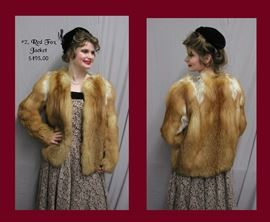 2. Red Fox Jacket - $495.00