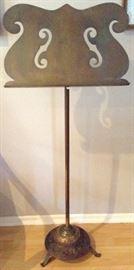 Vintage Brass Music Stand
