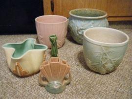 McCoy, Redwing & Roseville Pottery