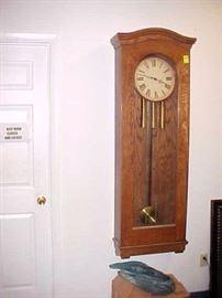 6 FOOT TALL 1800's CLOCK