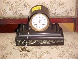 EARLY MANTLE CLOCK