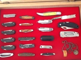 Wide selection of knives! This is a small sample!