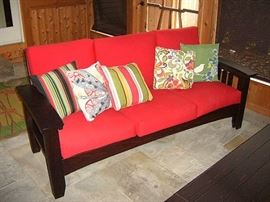 Stickley sofa.