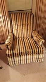 Cool retro striped chair