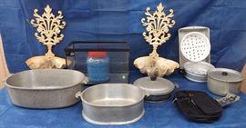 FSV016 Fish Tank, Guardian Cookware, Shell Wall Hangings & More!