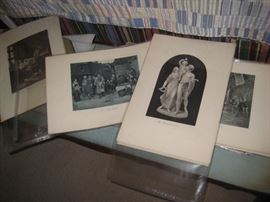 ASSORTED LITHOGRAPHS AND ENGRAVINGS