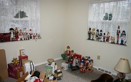 Wooden toy soldiers and more