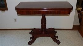 Antique Regency Period Game Table