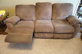 La-Z-Boy Sofas (2) with recliners on both end with matching recliner