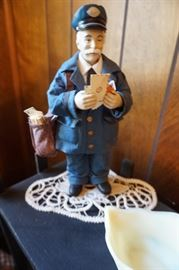 Postman figurine
