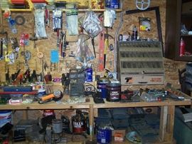 SOME OF THE HAND TOOLS