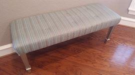 Silk bench $110