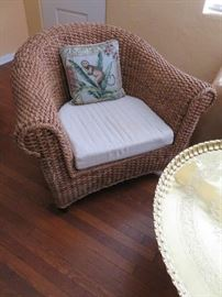 Nautical Rope Barrel Chair