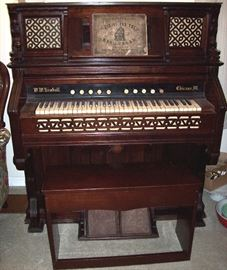 Antique pump organ in nice shape by W.W. Kimball Chicago, Illinois