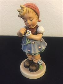"""Hummel - Signed - """"Daisies Don't Tell"""" Exclusive Special Edition No. 5 1972  #380c"""