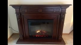 """Dimensions 63.625"""" W x 49.125"""" H x 21"""" D Features an onboard air treatment system Has a patented """"multi fire"""" feature Uses a large firebox for the best effects Fully programmable and thermostatically controlled Relies on a multi-purpose remote control Volts 120 Amps 12.5 Watts 1500 Wiring Plug-In Bulb Type Incandescent Approval  BTUs 5120 Heating Area 400 Sq. Ft. Remote Control Options Multi-function"""