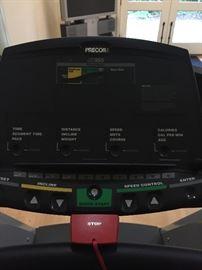 Control panel of the Precor 955 $340