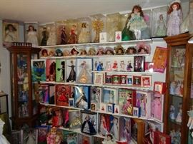 A Wall of Dolls
