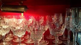 Crystal Waterford Wine Glasses
