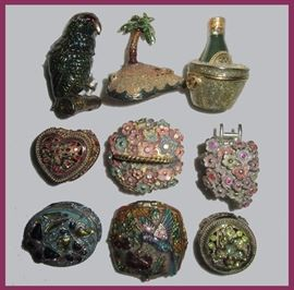 Part of the Collection of Small Excellent Trinket Boxes