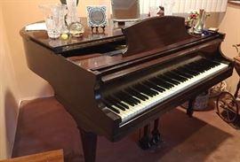 Vintage Winter Company Baby Grand Piano