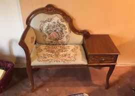 Telephone table/chair