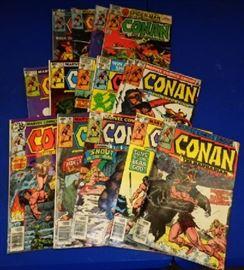 "1970s Marvel Comics- ""Conan the Barbarian"" Assorted"