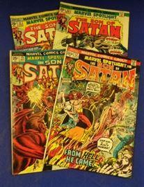 "1970s Marvel Comics- ""The Son of Satan"""