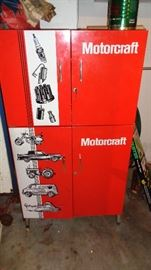 Cool MotorCraft Cabinet from Old Service Station