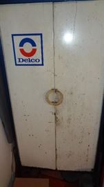 AC Delco Cabinet from Old Service Station