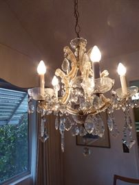Chandelier was $395 sale price on Saturday $250