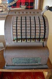Vintage adding machine American brand