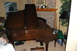 Baby Grand piano -- Packard.  (Will consider pre-sale inquiries)