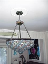 Tiffany style chandelier