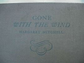 Gone with the Wind, first edition, signed and dated by author, Margaret Mitchell