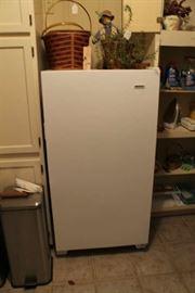 Upright freezer, little older but runs great