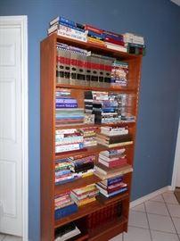 Bookcase & Books