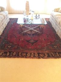 Assorted Persian area rugs