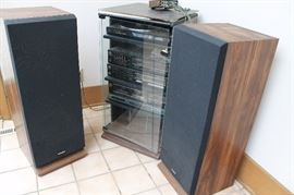 Fisher stereo equipment and speakers