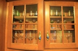 Lots of wine glasses