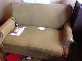 Sleeper sofa, twin size.