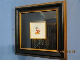 """Etching """"Fantasia"""" Mickey Mouse  2005"""