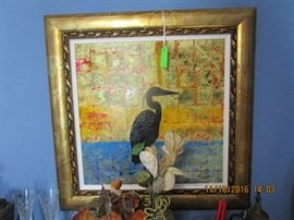 """Golden Heron""  De Forest, Autumn  2014"