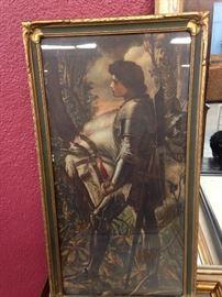 Joan of Arc Print.  Absolutely beautiful.