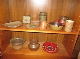 SOME OF THE ART POTTERY