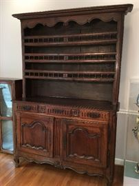 Antique French cupboard 18th century